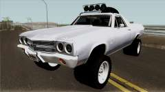 Chevrolet El Camino SS Rusty Rebel 1970 para GTA San Andreas