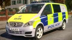 Mercedes-Benz Vito Police V.1.2 para GTA 4