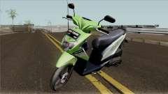 Honda BeAT FI Green STD para GTA San Andreas