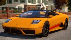 Pegassi Infernus S Roadster para GTA 4