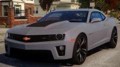 Chevrolet Camaro ZL1 V1 para GTA 4