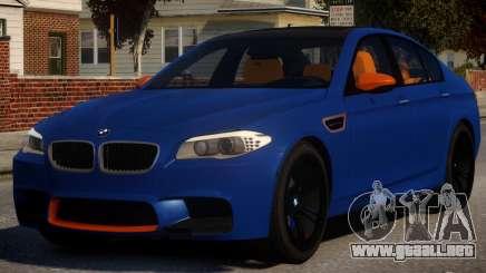 BMW M5 F10 Aige-edit V1 para GTA 4
