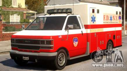 Ambulance New York City para GTA 4