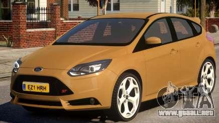 2013 Ford Focus ST para GTA 4