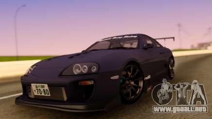 Toyota Supra JZA80 para GTA San Andreas