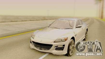 Mazda RX-8 Stock para GTA San Andreas