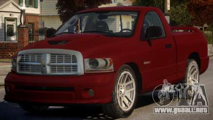 Dodge Ram (Beta) para GTA 4