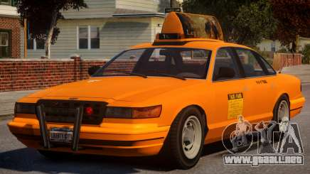 New York Taxi V1 para GTA 4