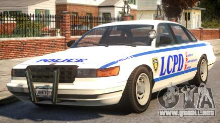 Police New York City para GTA 4