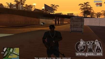 Sobornar a la policía para GTA San Andreas