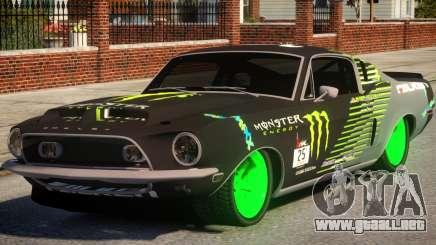 Shelby GT500 69 Monster para GTA 4