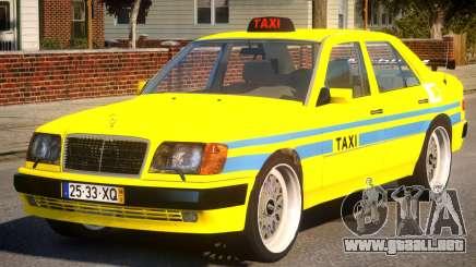 Mercedes E500 Taxi Portugal para GTA 4