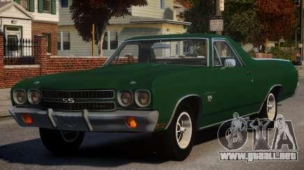 Chevrolet El Camino SS 454 v1 para GTA 4