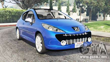 Peugeot 207 RC 2007 v0.3 [add-on] para GTA 5