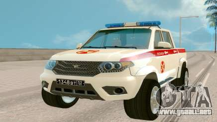UAZ Pickup (Regardie) para GTA San Andreas