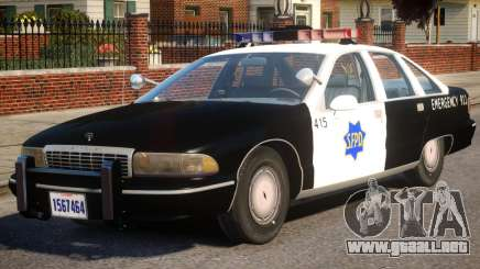 1991 Chevrolet Caprice para GTA 4