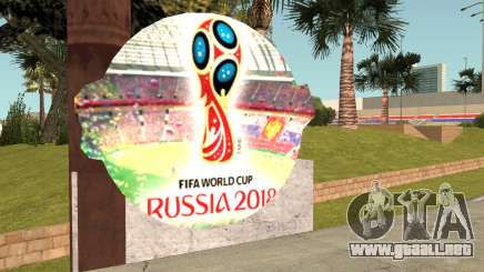 FIFA World Cup Russia 2018 Stadium para GTA San Andreas