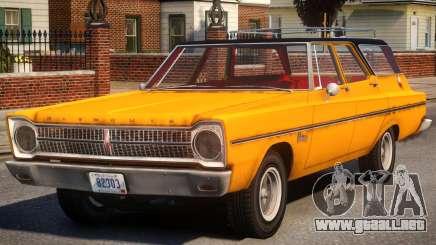 Plymouth Belvedere V1.2 para GTA 4