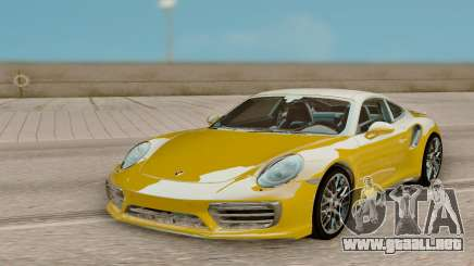 Porsche 911 Turbo S Exclusive Series para GTA San Andreas