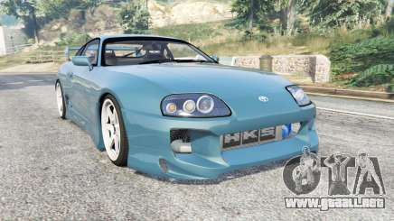 Toyota Supra Turbo (JZA80) v1.5 [replace] para GTA 5