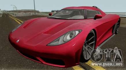 Overflod Entity XXR GTA V para GTA San Andreas