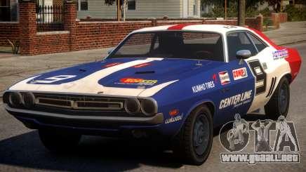 Dodge Challenger 1971 PJ8 para GTA 4