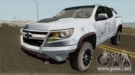 Chevrolet Colorado ZR2 2018 para GTA San Andreas