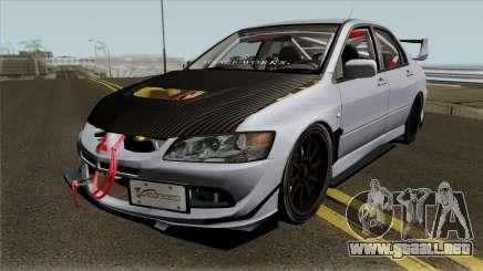 Mitsubishi Evolution Tuning Mod para GTA San Andreas