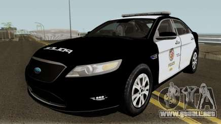 Ford Taurus LAPD 2011 para GTA San Andreas