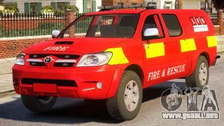 Toyota Hilux Police para GTA 4
