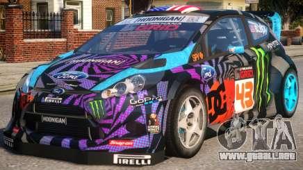 Ford Fiesta Gymkhana para GTA 4