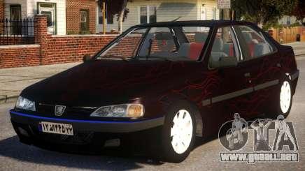 Peugeot Persia P1 para GTA 4