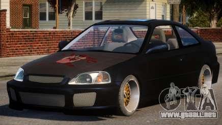 Honda Civic EA Tuned para GTA 4