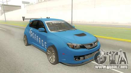 Subaru Impreza WRX STi Type RA Spec C para GTA San Andreas