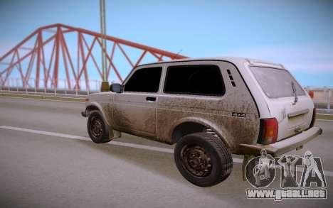 Lada Niva para la visión correcta GTA San Andreas