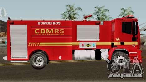 Iveco Trakker CBMRS para GTA San Andreas