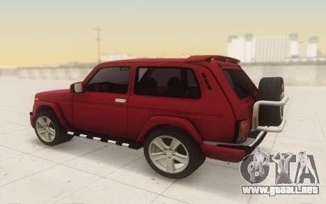 Niva 2121 Urban para GTA San Andreas