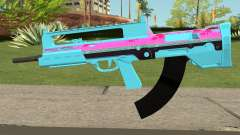 GTA Online Bullpup Rifle mk.2 Blue para GTA San Andreas