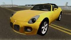 Pontiac Solstice GXP Coupe 2.0l 2009 para GTA San Andreas