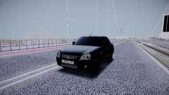 Lada Priora Black Edition para GTA San Andreas