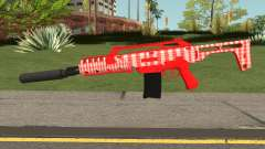 GTA Doomsday Heist Special Carbine Mk.2 Red para GTA San Andreas