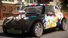 Mini Cooper S V8 Itasya para GTA 4