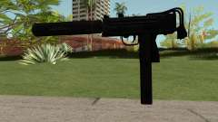 MAC-10 Black para GTA San Andreas