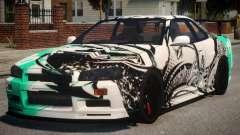 Nissan Skyline GT-R R34 PJ4