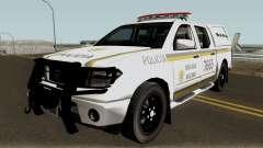 Nissan Frontier Brazilian Police para GTA San Andreas