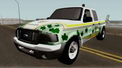 Ford Ranger 2007 da PATRAM para GTA San Andreas