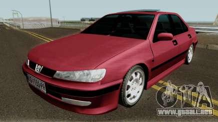Peugeot 406 Stock MQ para GTA San Andreas