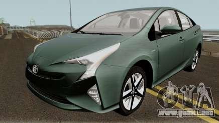 Toyota Prius 2017 para GTA San Andreas