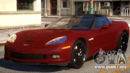 2010 Chevrolet Corvette Grand Sport v1.2 para GTA 4