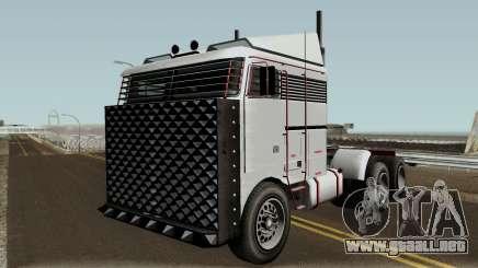 Jobuilt Hauler Custom GTA V IVF para GTA San Andreas